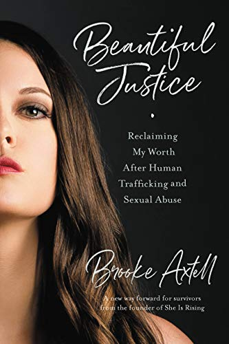 Book Cover of 'Beautiful Justice' by Brooke Axtell