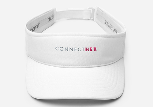ConnectHER Visor Hat